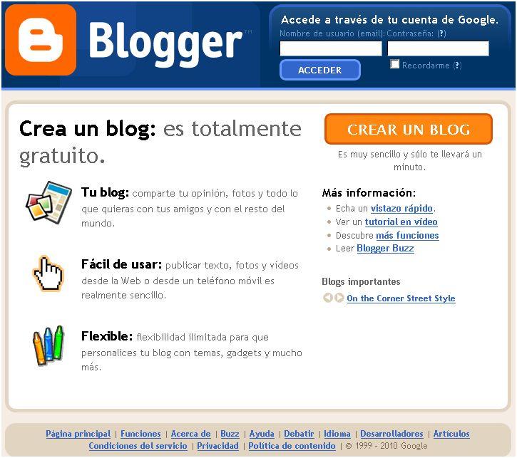 blogger peru gratis