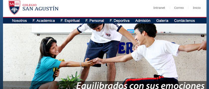 Colegio San Agustin.edu.pe