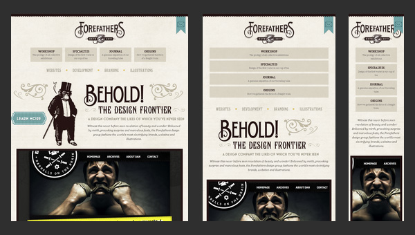 Responsive Design - Forefathers Group