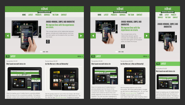 Responsive Design - Ribot