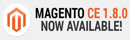 Magento 1.8  ya está disponible para descargar