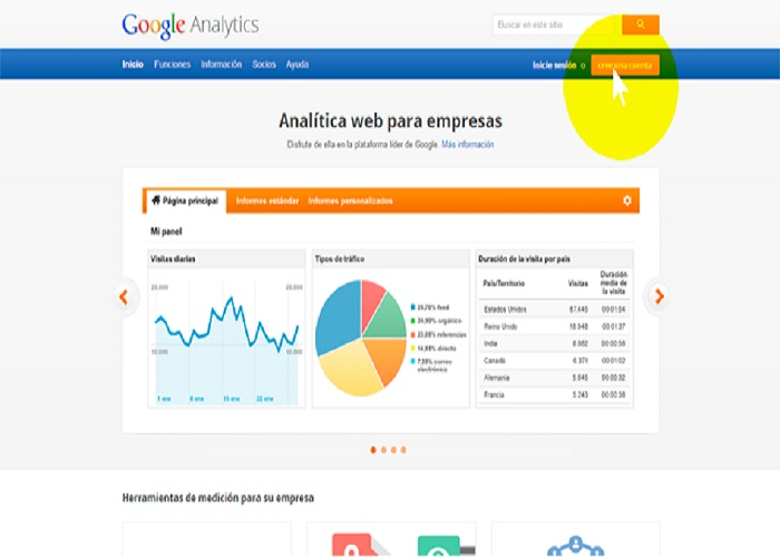 como instalar google analytics