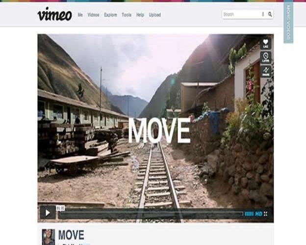 Páginas web para reproducir videos