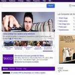 Pagina principal de Yahoo se renueva para España