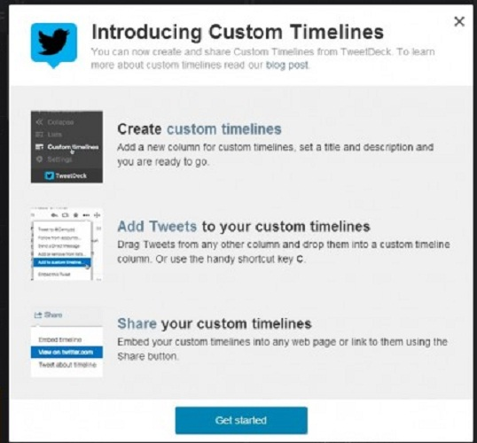 Timeline de Twitter ahora es personalizable
