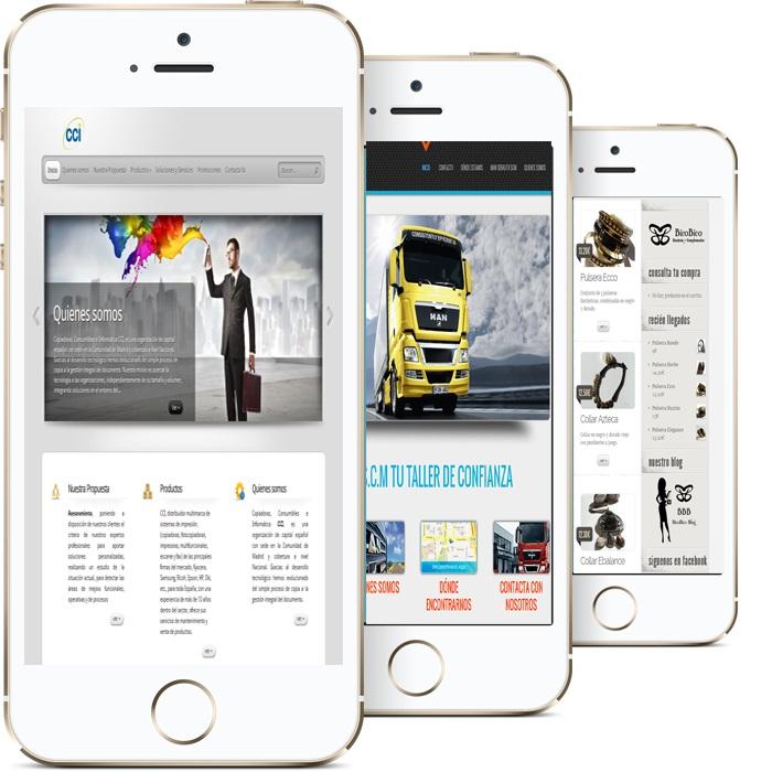 paginas web para moviles