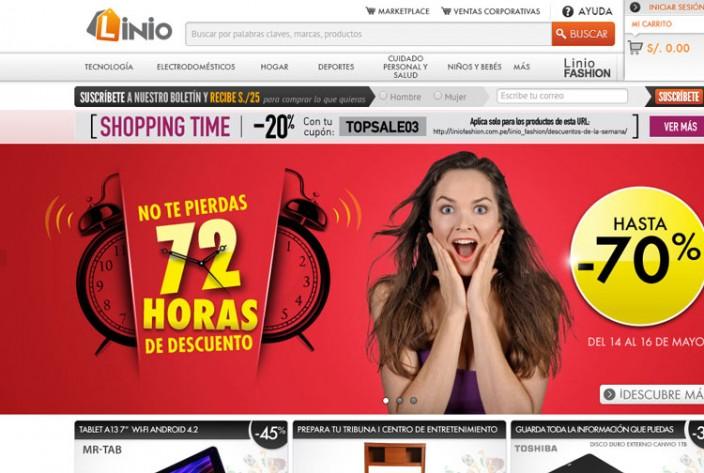 tiendas online peru - Linio
