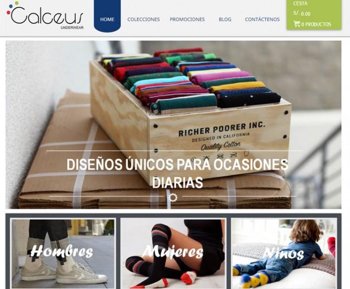 tiendas online peru - calceus