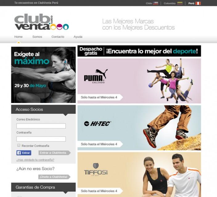tiendas online peru - clubventa