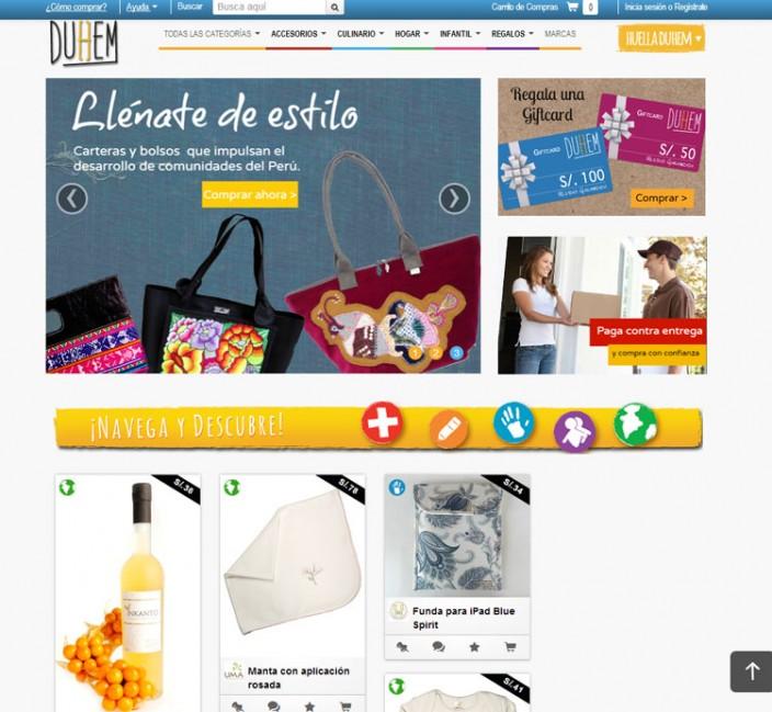 tiendas online peru - duhem