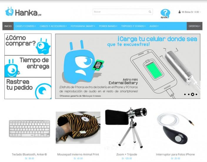 tiendas online peru - hanka
