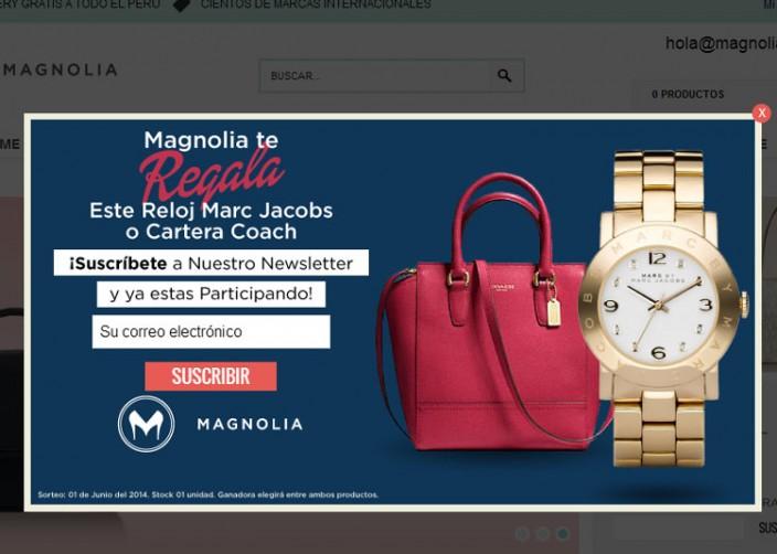tiendas online peru - magnolia