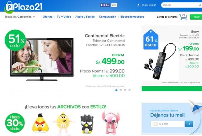 tiendas online peru - plaza21