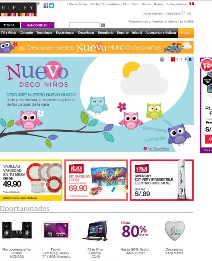 tiendas online en el peru ripley