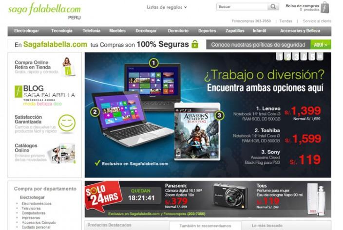 tiendas online peru - saga-falabella