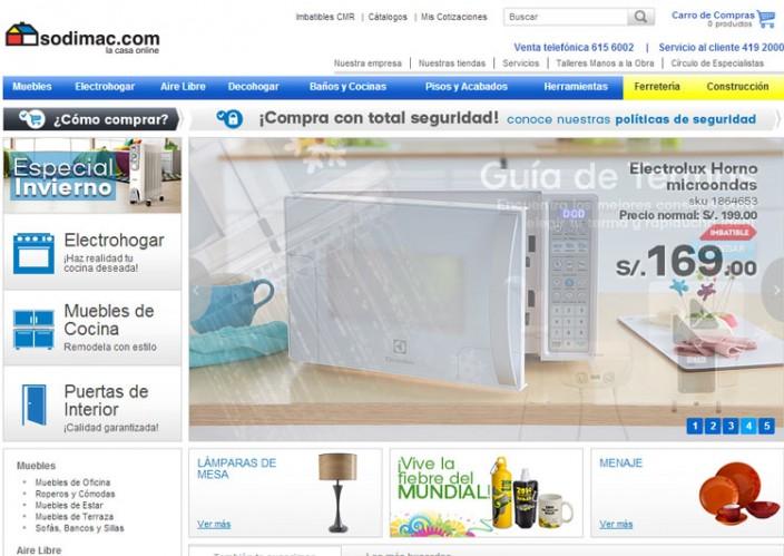 tiendas online peru - sodimac