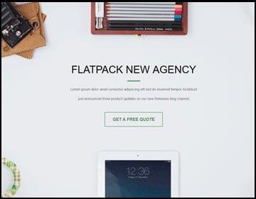 ejemplo de página web de una nueva agencia