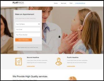 ejemplo de página web de consultorio