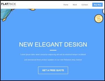 ejemplo de página web elegante