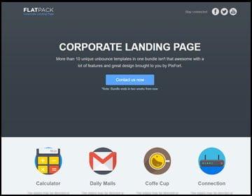 ejemplo página web corporativa
