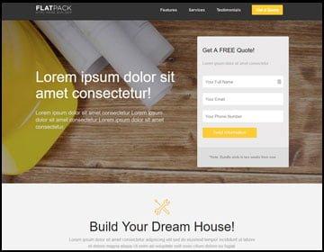 ejemplo de páginas web de construcción