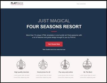 ejemplo de páginas web de hotel