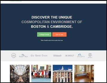 ejemplo de páginas web de universidad