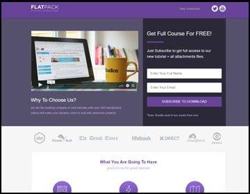 ejemplo de página web de cursos en líneas