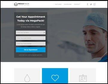 ejemplos de páginas web de salud