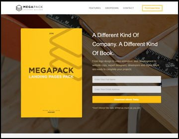 ejemplos de páginas web de libros