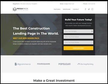 ejemplos de páginas web de construcción