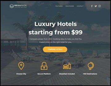 ejemplos de páginas web de hoteles