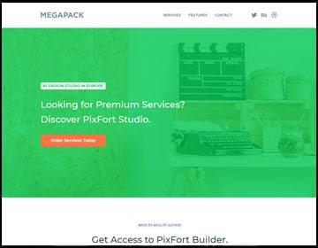 ejemplo de páginas web de un estudio