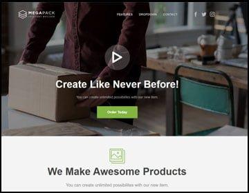 ejemplo de página web para una agencia