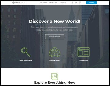 ejemplo de página web para proyectos