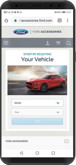 tienda virtual magento ford