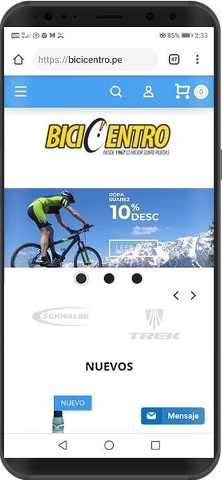 tienda virtual magento peru bicicentro
