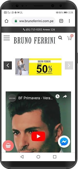 tienda virtual magento peru bruno ferrini