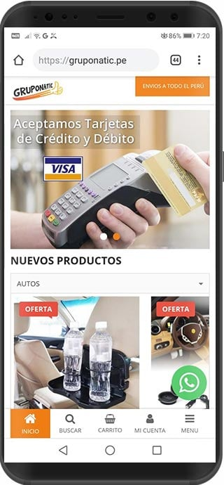 tienda virtual magento peru gruponatic