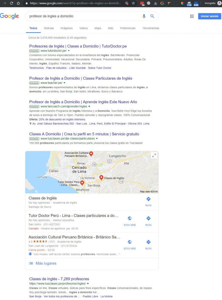 google ads vs organico