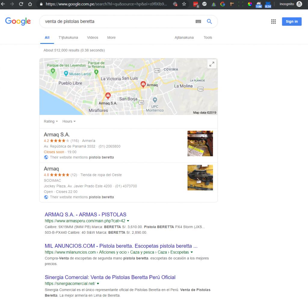 google ads vs google organico