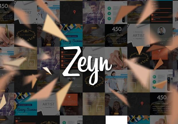 Plantillas WordPress Gratis - Zeyn