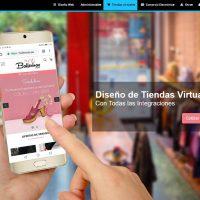 diseño de tienda virtual online