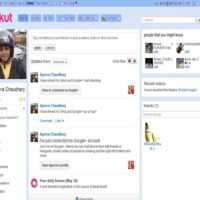 gestionar contactos en red
